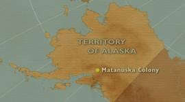 Motion graphics:  film Alaska Far Away