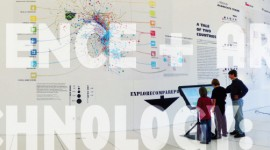 Exhibit design: Product Space & the evolution of economic development